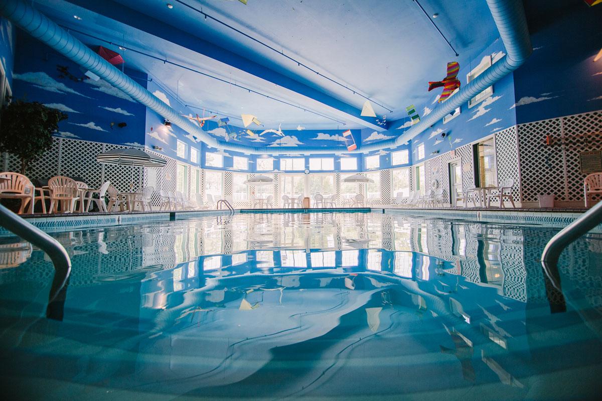 Pool Area Bayshore Resort Traverse City